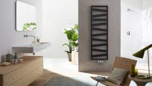 Ein moderner Heizkörper, der mit seinem Design den Raum prägt. Foto: Zehnder.