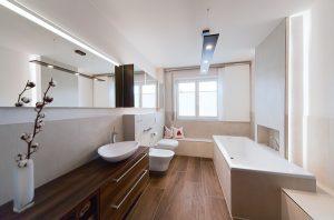 Ein neues Bad, genau nach den Vorgaben der Bauherren realisiert.